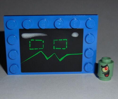 SPONGEBOB #21 Lego KAREN THE COMPUTER /& PLANKTON NEW 4981 HTF  Genuine Legos