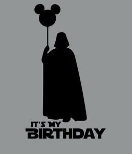 Image Is Loading Darth Vader It 039 S My Birthday Balloon
