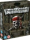 Pirates of the Caribbean Collection Box Set 1 2 3 4 Quadrilogy New DVD Region 4