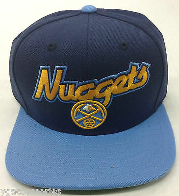 Sporting Goods Basketball Fashion Style Nba Denver Nuggets Adidas Structured Snap-back Cap Hat Style # Nh93z New Invigorating Blood Circulation And Stopping Pains
