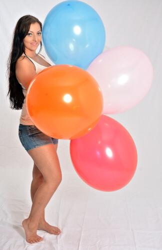 100 gran 45-48cm Ø globos globos! 100 x globo multicolor * mezclan multicolor