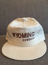 New Vintage Wyoming Cowboys Trucker Hat 80's Retro University WY Made In USA