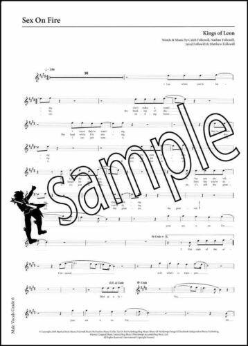 Rockschool Vocals Male Singers Grade 6 Music Book With Audio Download Card Sheet Music & Song Books
