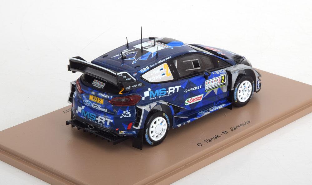 SPARK 1 43 MODELLINO FORD FIESTA WRC  2 2 2 TANAK WINNER RALLY ITALY 2017 NEW S5167 b04951