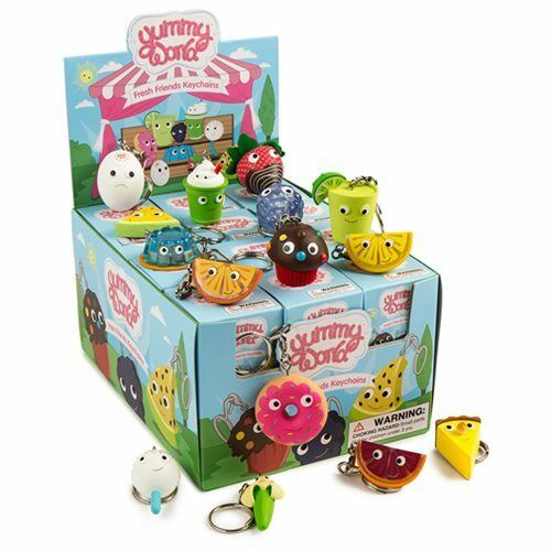 Yummy World Fresh Friends Blind Box Vinyl Figure Keychain Cases
