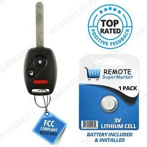 For 2005 2006 2007 2008 Honda Pilot Keyless Entry Car Remote Uncut Key Fob