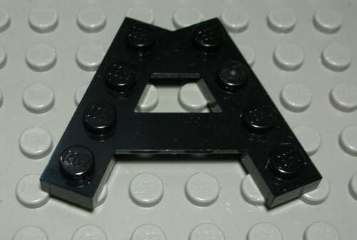 391 Lego Platte Träger 5x4 Schwarz 2 Stück