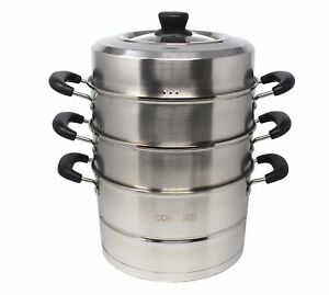 CONCORD-Stainless-Steel-3-Tier-Premium-Steamer-Pot-Cookware-Avail-in-4-Sizes