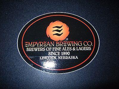 BLACKSTONE BREWING COMPANY Nashville STICKER decal craft beer brewing brewery