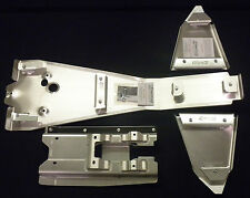HONDA TRX450R FRAME SKID PLATE  A-ARM PLATE SET .125 SWINGARM SKID .190 (2004-05