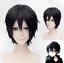 Sword Art Online Kirigaya Kazuto SAO Kirito Black Short Cosplay Wig Halloween