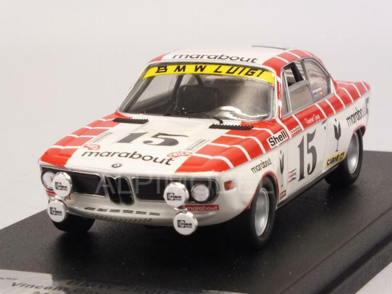 BMW 2800 CS Spa 1972 Gaye - Braillard 1 43 TROFEU RRBE03