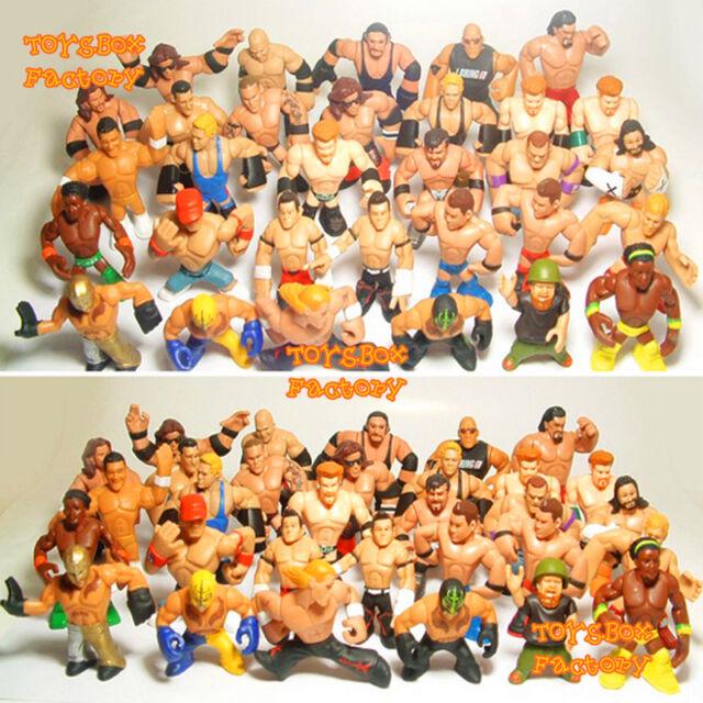 31x WWE Rumblers John Cena Kane Rock CM Punk Undertaker Action Figures Kid Toys