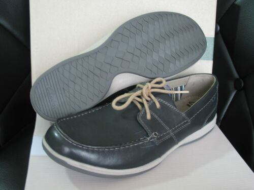 NEW CLARKS CUSHION SOFT ORTHOLITE FALLSTON LACE NAVY LEATHER SHOES VARIOUS SIZE