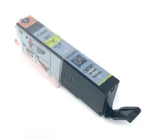 CMY Canon OEM  PGI-280 /& CLI-281 Colors and PGI//CLI Black Ink Cartridge Set up