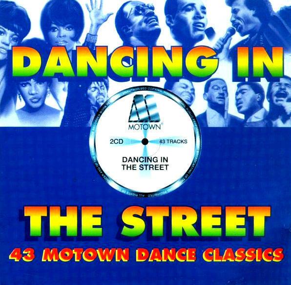 Dancing In The Street - 43 Motown Dance Classics (2 CD-Album) Neu & OVP 1999