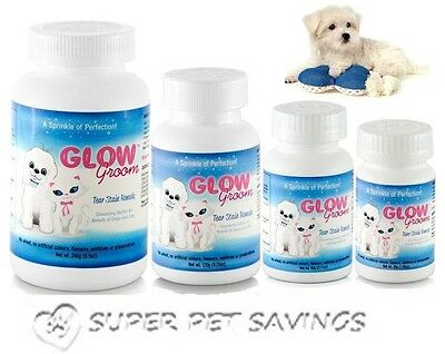 GLOW GROOM Dog Cat Tear Stain Remover Dog Cat Tear Stain Remedy for Angel Eyes