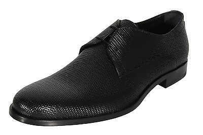 Boss by Hugo Boss Men's Formal Dress Shoes Sigma_Derb_pr Black Leather Oxfords