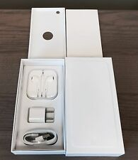 IPHONE 6 PLUS 6+ SILVER EMPTY RETAIL BOX FULL ACCESSORIES KIT 16GB 64GB 128GB