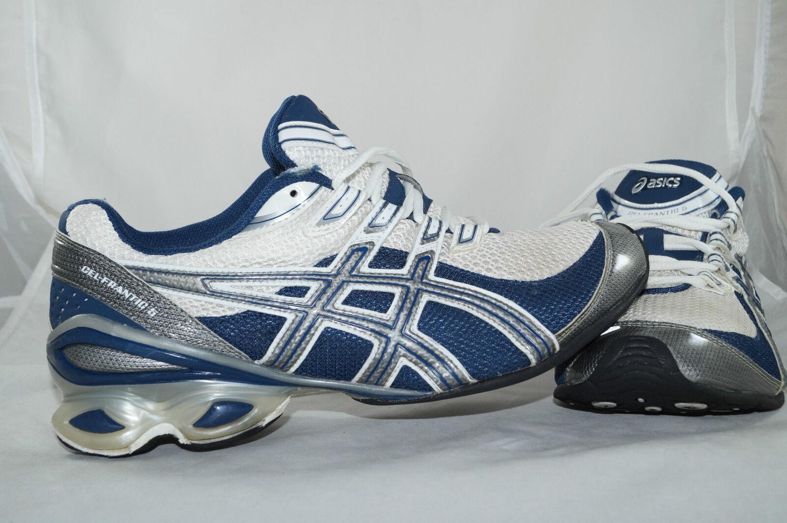 Bsics GEL FRBNTIC 5 GR: 41,5 Blau Weiss Jogging Laufschuhe Running
