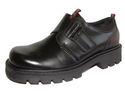 NEU Dockers Herren Schuhe Halbschuhe 115705 Klettverschluss Lederschuhe Boots   eBay