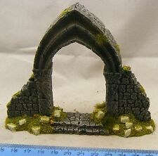 Gothic archway 28mm Fantasy, historical and science fiction scenery