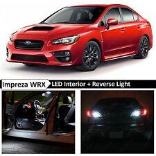 2015-2017 Subaru WRX STI White Interior + Reverse LED Light Package Kit