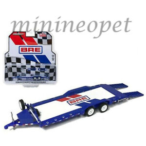 GREENLIGHT-51259-BRE-BROOK-RACING-HEAVY-DUTY-CAR-HAULER-TRAILER-JDM-DATSUN-1-64