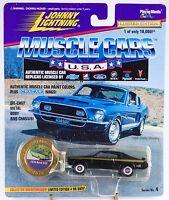 Johnny Lightning Muscle Cars Usa 1970 Buick Gsx Black 1996