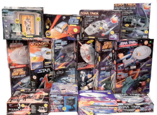 Star Trek Playmates Starship/Playset Collection-Unopened Box- Your Choice of 20