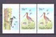 Nederland  Netherlands 1305abc Weidevogels  (strook uit pb30)  postfris