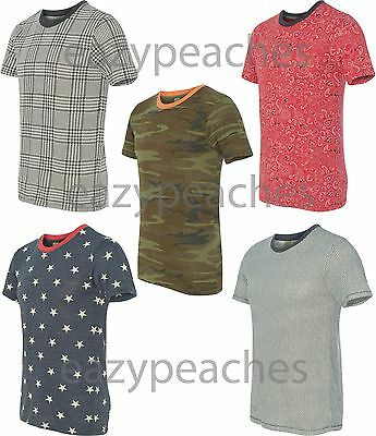 Alternative Apparel NEW Printed Eco Jersey Short Sleeve T-Shirt Mens S-L XL 2XL