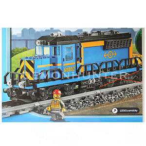 Lego-City-Cargo-Locomotive-New-from-60052-Cargo-Train-No-Powerfunctions-Box