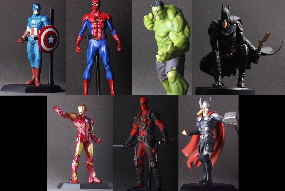 Figura de acción   Action Figure DC - Marvel Super Heroes Ironman Captain...