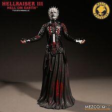 Hellraiser 3 INFERNO SULLA TERRA Pinhead BLOODY VARIANTE FIGURA IN VINILE MEZCO in magazzino
