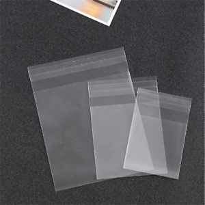100pcs-Transparent-Candy-Cookie-Plastic-Bags-Self-Adhesive-Biscuits-Supplies