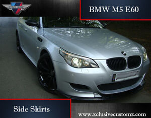 Bmw M5 E60 Side Skirts For Bmw 5 Series E60 Tuning Ebay