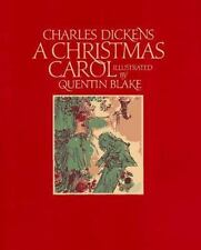 A Christmas Carol by Charles Dickens Illustrated Quentin Blake 1995 Hardcover
