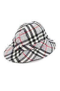 abbd8428c Details about 90`s BURBERRY LONDON WOMENS WOOL NOVA CHECK PLAID BUCKET HAT  CAP PANAMA SIZE M