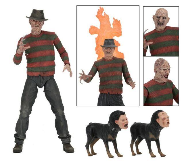 Figure Action Freddy Krueger For Nightmare 2 The Vendetta Ultimate Neca Original
