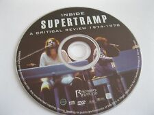SUPERTRAMP PROGRESSIVE ROCK LEGENDS 1974to1978 see descr - DISC ONLY (DS9) {DVD}