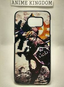 USA Seller Samsung Galaxy S6 Anime Phone case Cover Naruto Nine-tails Beast Mode