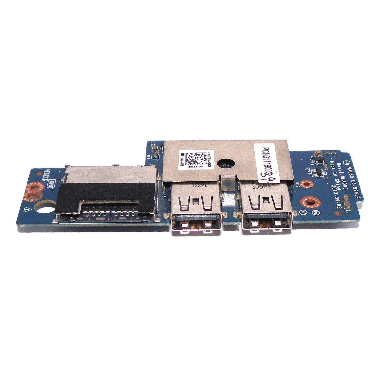 Dell Precision M3800 XPS 15 9530 USB SD Card Reader IO Circuit Board CHA01 07DF4