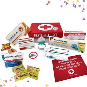 Erste-Hilfe-Set-Geschenk-Box-witziger-Sanikasten-Scherzartikel-zum-Geburtstag