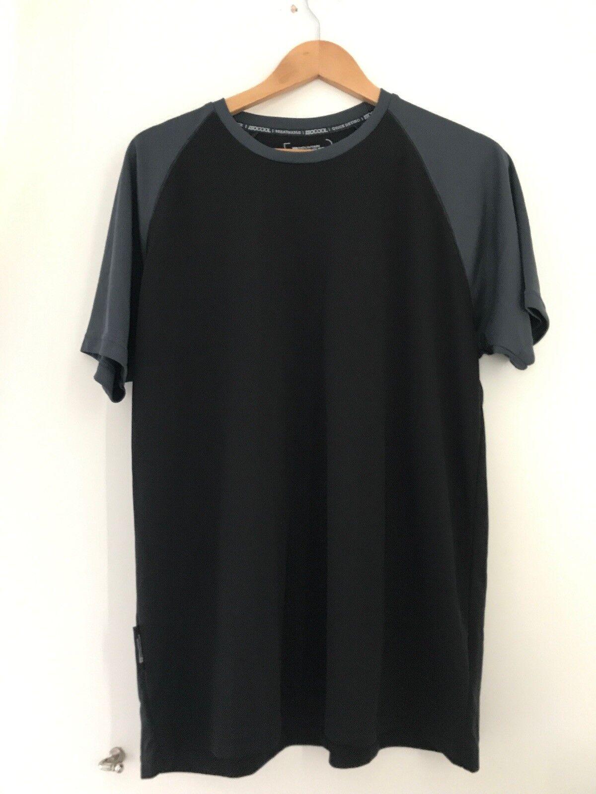 Mens Mountain Warehouse Sport Top XL Short Sleeve <JJ8923