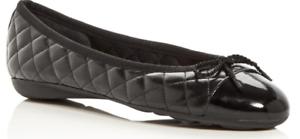 Paul Mayer Attitudes Best Patent Black//Nappa Black Ballet Flat Womens sizes 5-11