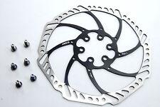 Ashima Aegis 180mm Mountain Bike Disc Brake Rotor BLACK 116g