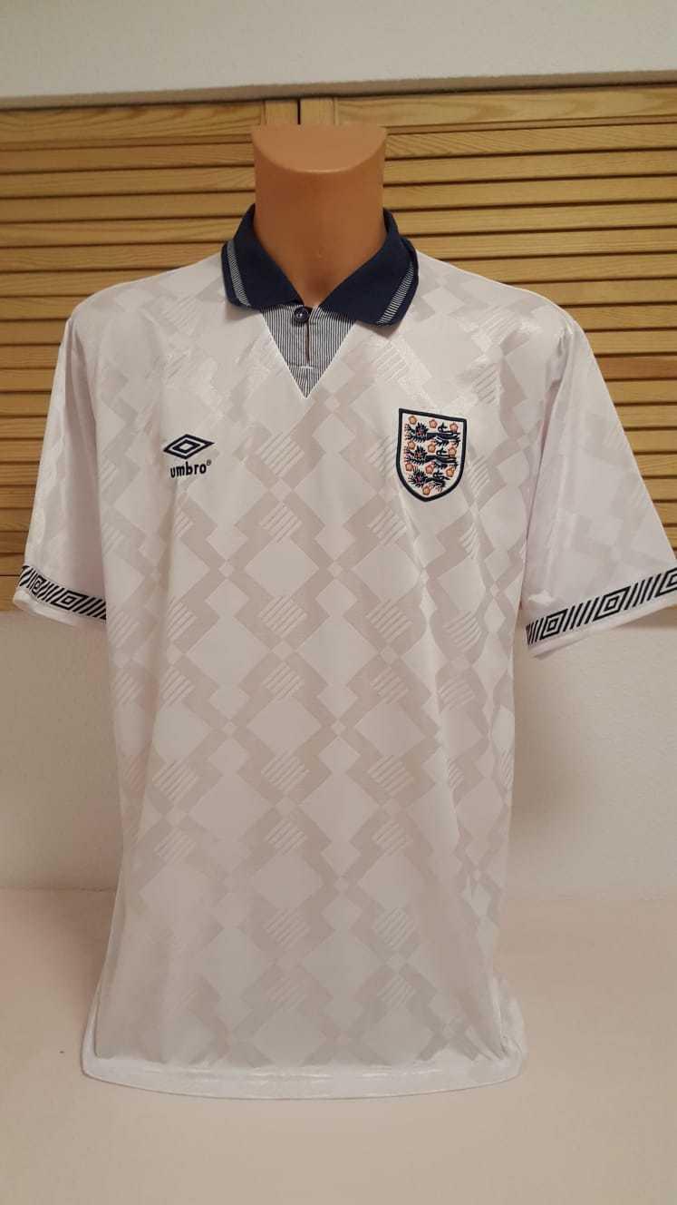England Trikot 1990-92 GASCOIGNE Umbro Home XL FA Jersey Camiseta Shirt Maillot