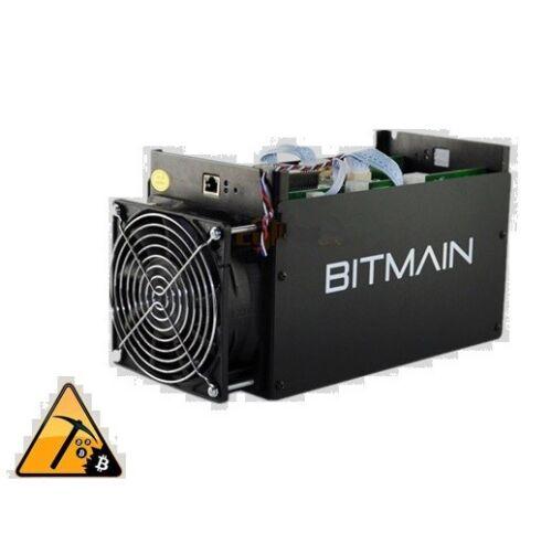 USED Bitmain Antminer S5 BTC Miner Bitcoin ASIC Mining Machine With Power Supply