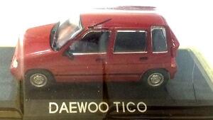 Daewoo Tico Rossa - Scala 1:43 - DeAgostini - Nuova